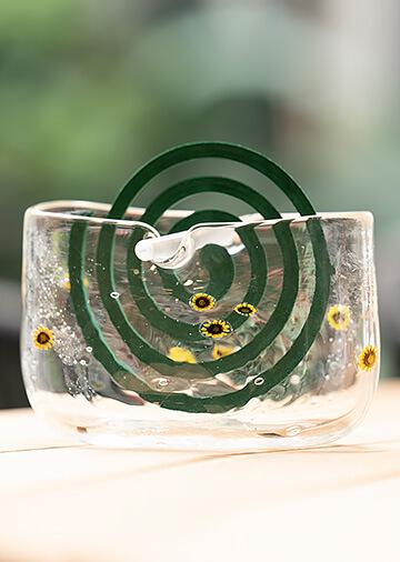 蚊取り線香ホルダー (金魚、向日葵)